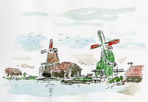 1901#1オランダ風車